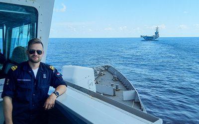 Promotie bij Koninklijke Marine door Arbeidsmarktroute