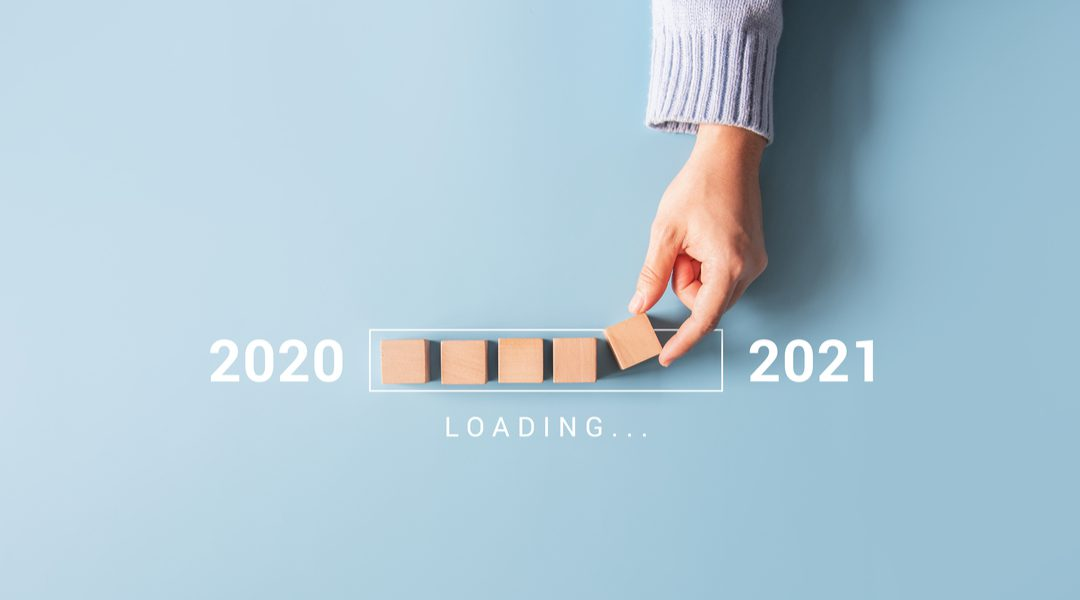 Van 2020 naar 2021